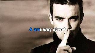 getlinkyoutube.com-Robbie Williams - Angels Karaoke