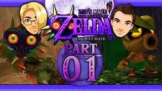 getlinkyoutube.com-Let's Race: The Legend of Zelda: Majora's Mask 3D - Part 1 - First 3 Days