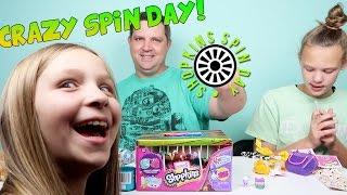 getlinkyoutube.com-Crazy Shopkins Spin Day - Where Did Macey Go?