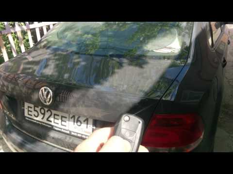 Реализация авто открывания багажника vw polo sedan