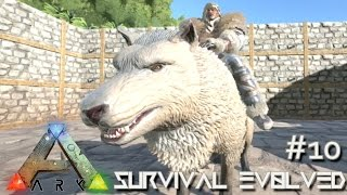 getlinkyoutube.com-ARK: Survival Evolved - DIRE WOLF TAMING LVL 120 & NEW BIOMES UPDATE !!! [Ep 10] (Server Gameplay)