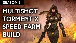 getlinkyoutube.com-2.4 Demon Hunter - Unhallowed Essence Multishot Torment X Speed Farm Build