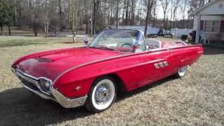 getlinkyoutube.com-1963 Ford Thunderbird Sport Roadster Start Up, Exhaust, and In Depth Tour