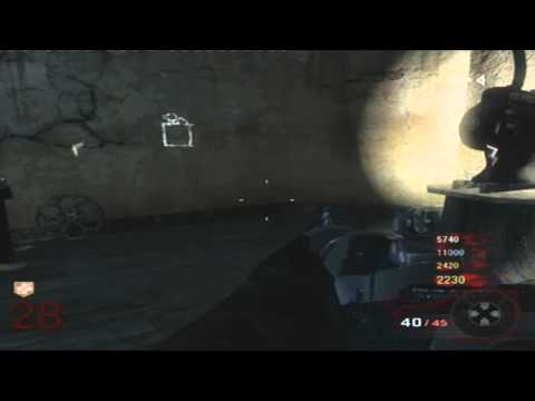 Call of Duty Black Ops Zombie Kino der Toten Secret/Segreti