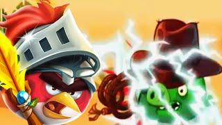 getlinkyoutube.com-Angry Birds Epic - Red Birds Elite Stone Guard Return To The Jungle!