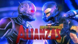 getlinkyoutube.com-LAS ALIANZAS - Marvel Batalla de Superhéroes ANT-MAN