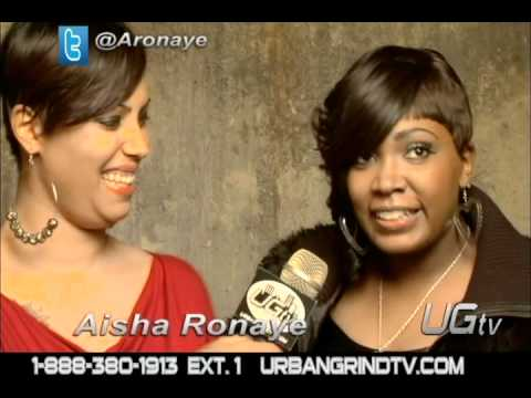 Aisha Ronaye interview & performance at Urban Grind TV Vol 1 Mixtape Release Party