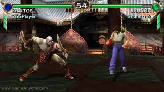 getlinkyoutube.com-Soul Calibur Broken Destiny - HD Test (Kratos) (PSP)