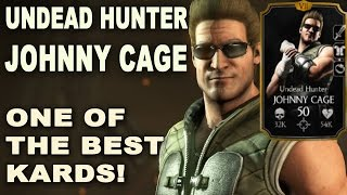 getlinkyoutube.com-Why I think Undead Hunter Johnny Cage is one of the BEST CHARACTERS IN MORTAL KOMBAT X MOBILE!