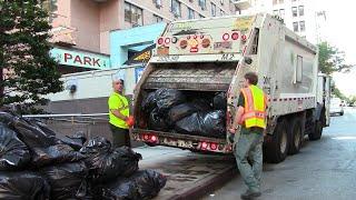 getlinkyoutube.com-DSNY - New York's Garbage Trucks