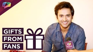 Mishkat Varma receives birthday gifts from his fans