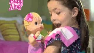 getlinkyoutube.com-Comercial Hasbro latino Baby alive  Eructitos
