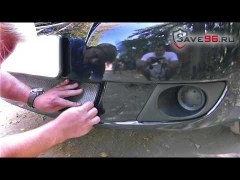 Защита радиатора на Suzuki SX4 (Сузуки СХ г.в. (седан)