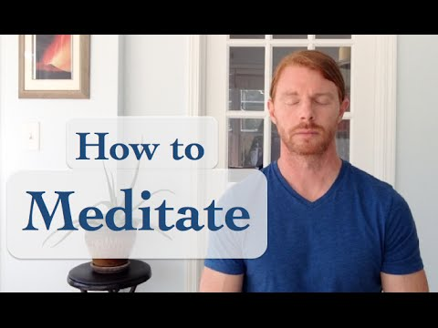 How to Meditate - with JP Sears
