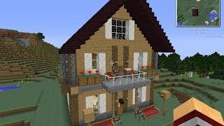 getlinkyoutube.com-Minecraft - Как построить красивый дом с подписчиком - #9