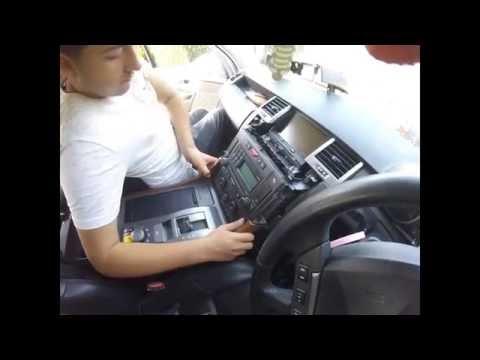 Как снять центральных консолей Land Rover Sport