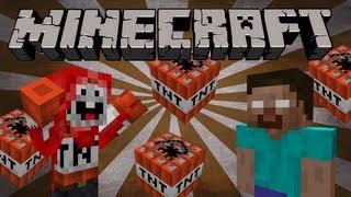 getlinkyoutube.com-If ExplodingTNT and Herobrine were friends - Minecraft