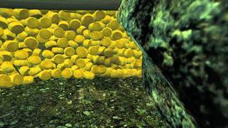 getlinkyoutube.com-5,000 Cheese + Waterfall = Cheese for Everyone! -Skyrim
