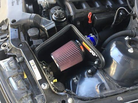 KN 57I-1000 Bmw e46 - air filter sound
