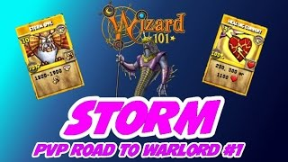 getlinkyoutube.com-Wizard101: Exalted Diviner PvP: Road To Warlord #1