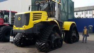 Новейшие разработки из линейки дорожно-строительных и специальных машин «Кировец»