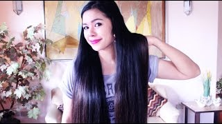 getlinkyoutube.com-How often I wash my hair? How does my hair smell? How to deal with 2nd and 3rd Day Hair