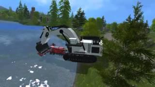 getlinkyoutube.com-Farming Simulator 15 Liebherr 9800