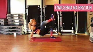 getlinkyoutube.com-Ćwiczenia na brzuch. Mocny trening mięśni brzucha   Codziennie Fit