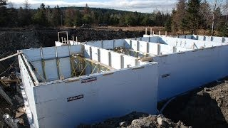 getlinkyoutube.com-Polycrete- Big Block 1600 Insulated Concrete Forms ICF - Installation Video