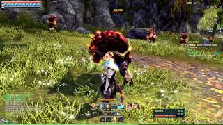 getlinkyoutube.com-Blade & Soul Online Low Level 20 Blade Master Gameplay