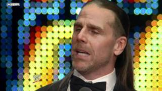 getlinkyoutube.com-Hall of Fame: Shawn Michaels speaks at the WWE Hall of Fame