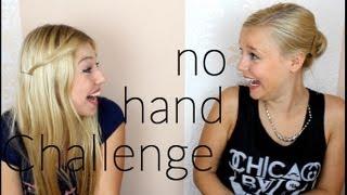 getlinkyoutube.com-No Hand MakeUp Challenge - mit Dagi Bee