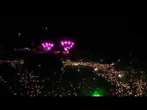 Ανάσταση στην Πάνω Πλατεία Πάσχα στην Κέρκυρα 2014
