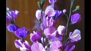 getlinkyoutube.com-Paper flowers - Wallflowers / Stocks (Flower # 4)