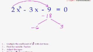 getlinkyoutube.com-EasyCal 21 - Quadratic Eqn Trick 3 - Faster way of Factorization of Quadratic Eqn Type 2.wmv