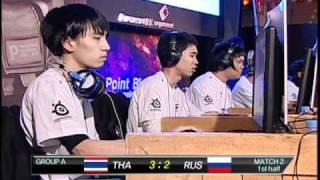 getlinkyoutube.com-1st PBIC:  Russia vs. Thailand.