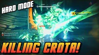 getlinkyoutube.com-Destiny - HARD Crota's End Final Boss Kill & Rewards!   Crota's End Hard Mode Raid