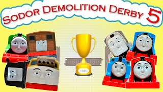 getlinkyoutube.com-Sodor Demolition Derby 5 | Thomas and Friends Trackmaster | Strongest Engine