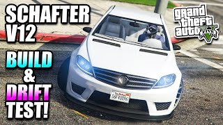 getlinkyoutube.com-GTA 5 - Benefactor Schafter V12 Customisation/Drift Test - Executives & Other Criminals DLC
