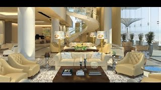 getlinkyoutube.com-Mukesh Ambani 's Antilia Vs Shahrukh Khan's Mannat : Two Beautiful House