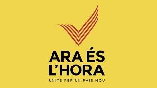 Ara és l'hora - La V al món #votecatalonia