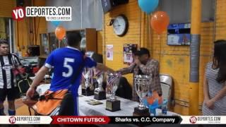 Sharks vs.  C. C.  Company Chitown Futbol Veterans League