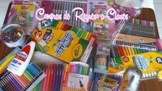 getlinkyoutube.com-Compras de Regreso a Clases  ♥