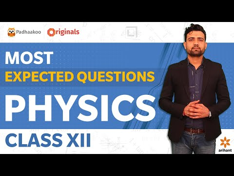 Most Expected Questions   Physics Class XII   CBSE 2020