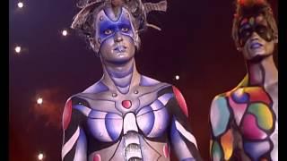 getlinkyoutube.com-Body Painting Masculino - Desfile De Maquillaje Corporal