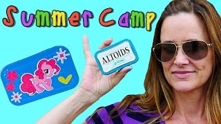 getlinkyoutube.com-Summer Camp - Making a My Little Pony Pinkie Pie Craft with Altoids Containers! Learn with DCTC