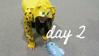 getlinkyoutube.com-TAMING SQAISHEY - MINECON 2015 VLOG (DAY 2)