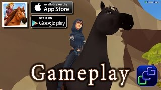 getlinkyoutube.com-Horse Adventure Tale Of Etria iOS Gameplay
