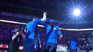THE NEW  Oklahoma City Thunder Introduction!  2017-2018 NBA Season