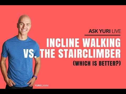Incline Walking vs Stairclimber (Which is Better?) | Ask Yuri Live Nov 23